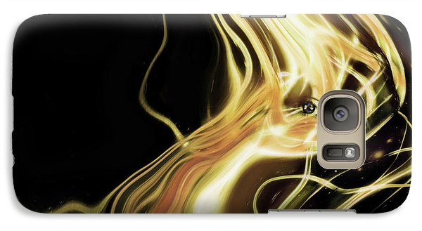 Galaxy Case featuring the photograph Angel Eyes by Pennie  McCracken