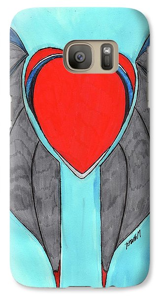 Angel Heart Galaxy S7 Case by Ronald Woods
