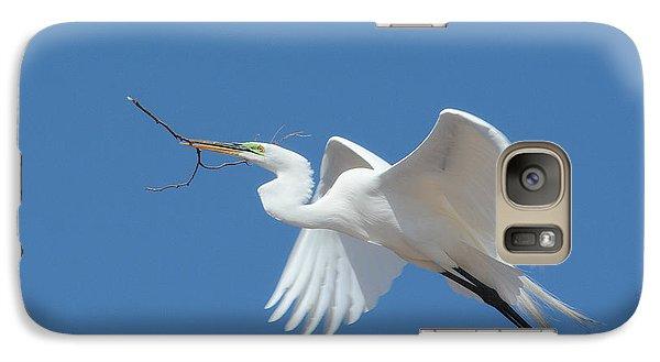Galaxy Case featuring the photograph Angel In Flight by Fraida Gutovich
