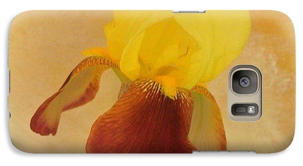 Galaxy Case featuring the photograph Angel Iris by Marsha Heiken