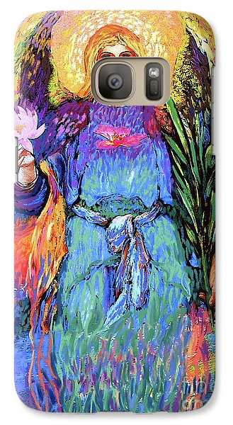 Lily Galaxy S7 Case - Angel Love by Jane Small