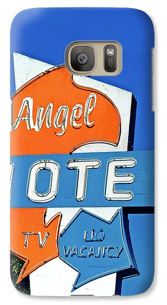 Galaxy Case featuring the photograph Angel Motel by Matthew Bamberg