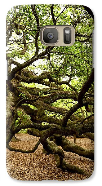 Galaxy Case featuring the photograph Angel Oak by Greg Simmons