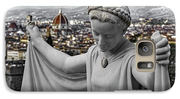 Galaxy Case featuring the photograph Angel Of Florence by Sonny Marcyan