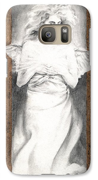 Galaxy Case featuring the painting Angel Of Light by Ragen Mendenhall