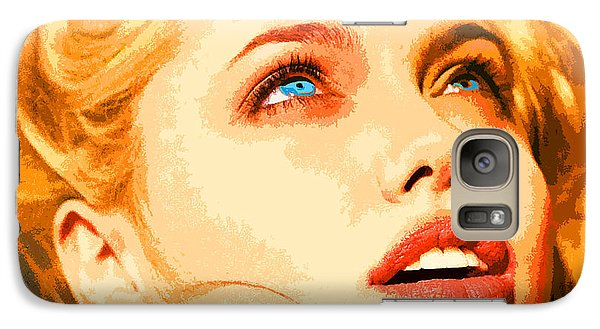 Galaxy Case featuring the digital art Angelina by John Keaton