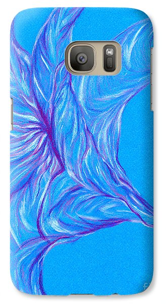 Galaxy Case featuring the photograph Angel's Trumpet by Kim Sy Ok