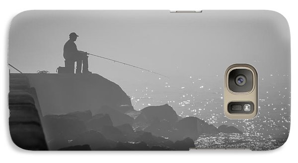 Angling In A Fog  Galaxy S7 Case