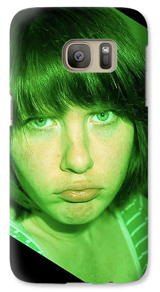 Galaxy Case featuring the photograph Angry Envy by Jane Autry