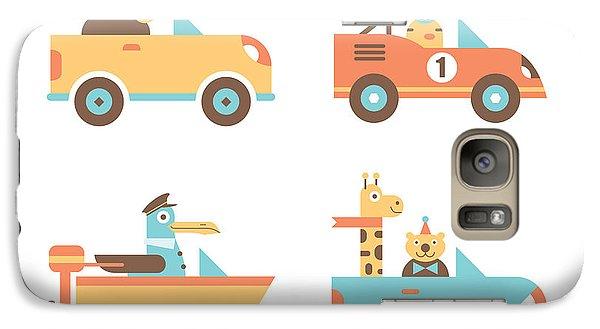 Truck Galaxy S7 Case - Animal Cars by Mitch Frey