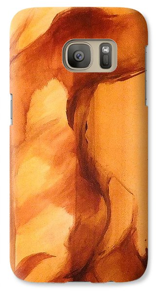Galaxy Case featuring the painting Animal by Denise Fulmer