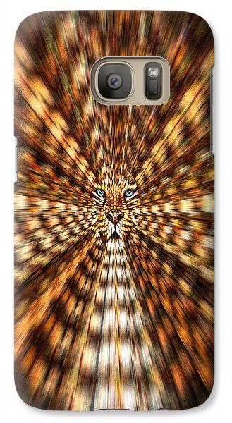Galaxy Case featuring the painting Animal Magnetism by Paula Ayers