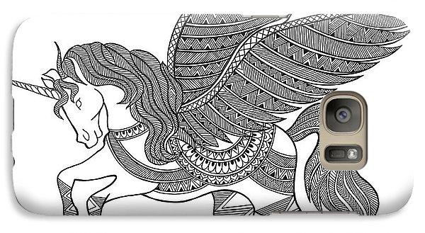 Animal Unicorn Galaxy S7 Case by Neeti Goswami