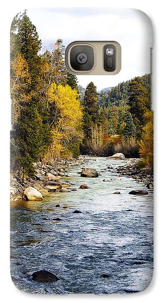 Galaxy Case featuring the photograph Animas River by Kurt Van Wagner
