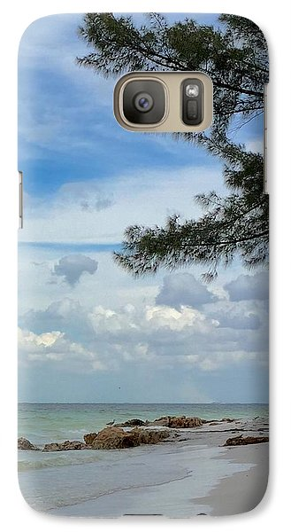 Galaxy Case featuring the photograph Anna Maria Island  by Jean Marie Maggi