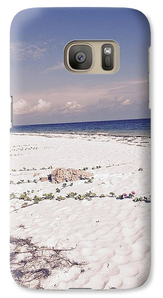 Galaxy Case featuring the photograph Anna Maria Island Beyond The White Sand by Jean Marie Maggi