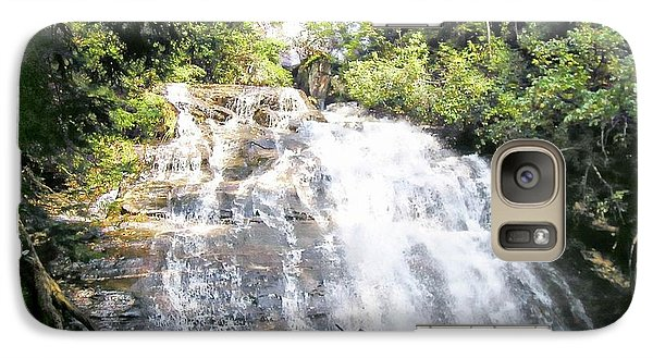 Galaxy Case featuring the photograph Anna Ruby Falls by Jerry Battle