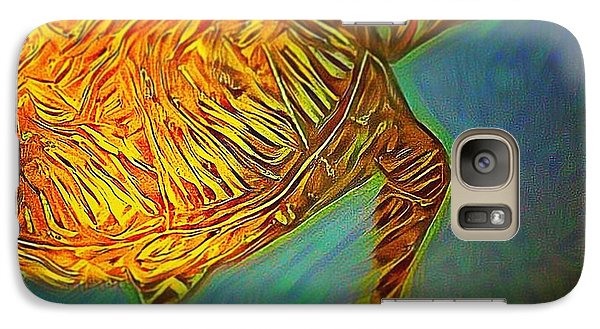 Galaxy Case featuring the digital art Annabelle The Turtle by Erika Swartzkopf