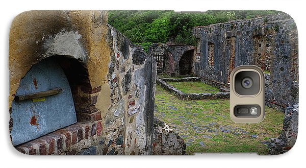 Galaxy Case featuring the photograph Annaberg Sugar Mill Ruins At U.s. Virgin Islands National Park by Jetson Nguyen