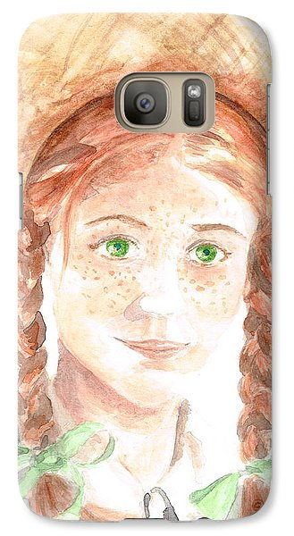 Galaxy Case featuring the painting Anne Of Green Gables by Andrew Gillette