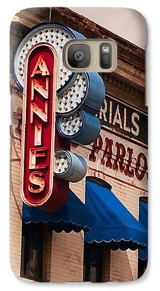 Annies U Of M Galaxy S7 Case by Susan Stone