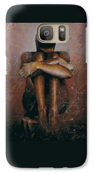 Annunciation / Mary Galaxy S7 Case
