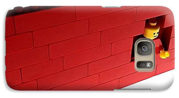 Galaxy Case featuring the photograph Another Brick In The Wall by Mark Fuller