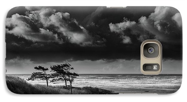 Galaxy Case featuring the photograph Another Day At Kalaloch Beach by Dan Mihai