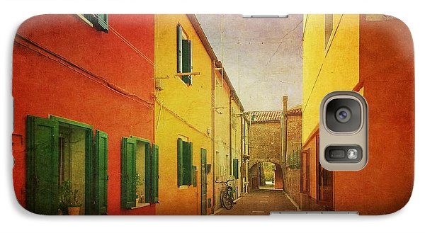 Galaxy Case featuring the photograph Another Morning In Malamocco by Anne Kotan