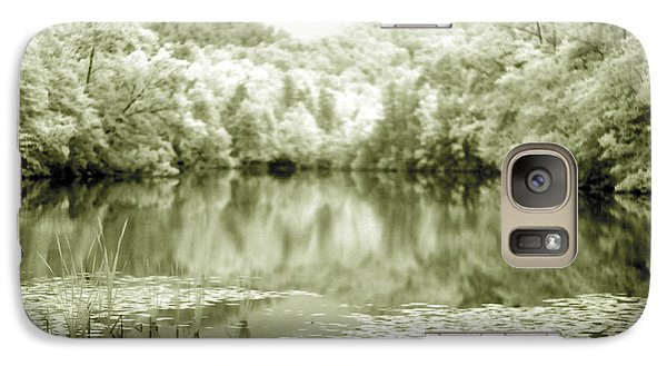 Galaxy Case featuring the photograph Another World by Alex Grichenko