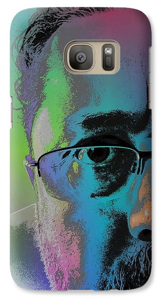 Galaxy Case featuring the digital art Anothercolor by Jeff Iverson