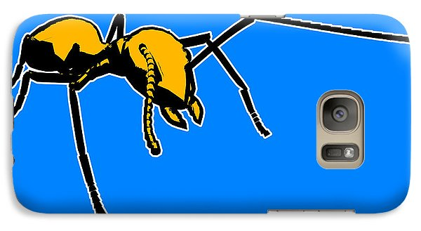 Ant Galaxy S7 Case - Ant Graphic  by Pixel  Chimp