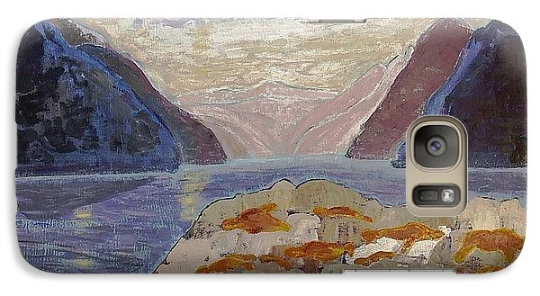 Galaxy Case featuring the painting Antarctic Seals  by Vicky Tarcau