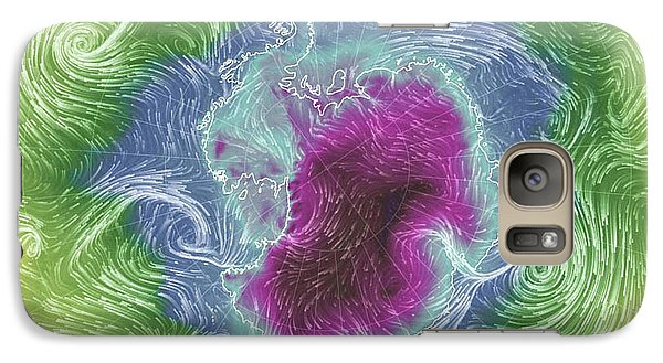 Galaxy Case featuring the photograph Antarctica Abstract by Geraldine Alexander