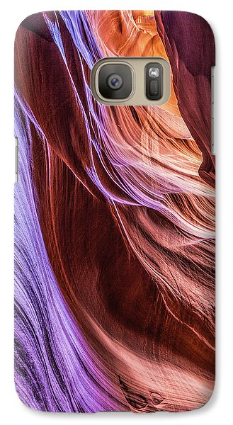 Antelope Canyon Air Glow Galaxy S7 Case