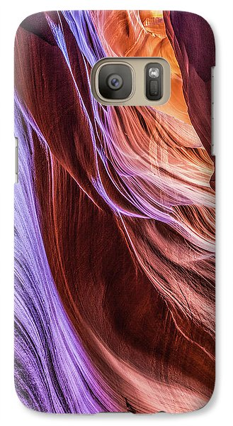 Antelope Canyon Air Glow Galaxy S7 Case