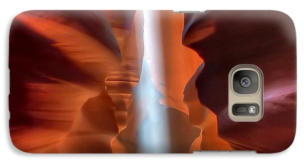 Galaxy Case featuring the photograph Antelope Canyon Light by Farol Tomson