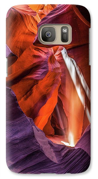 Antelope Canyon Lightshaft 3 Galaxy S7 Case