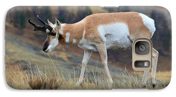 Galaxy Case featuring the photograph Antelope by Irina Hays