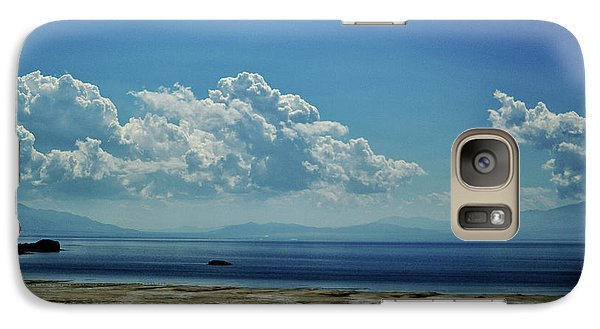 Galaxy Case featuring the photograph Antelope Island, Utah by Cynthia Powell