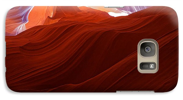 Galaxy Case featuring the photograph Antelope View by Jonathan Davison