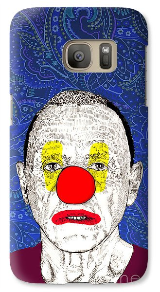 Galaxy Case featuring the drawing Anthony Hopkins by Jason Tricktop Matthews