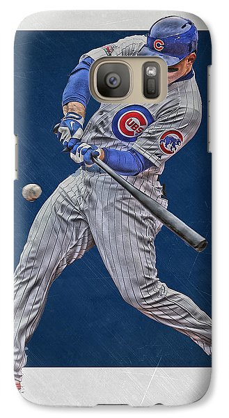 Anthony Rizzo Chicago Cubs Art 1 Galaxy S7 Case