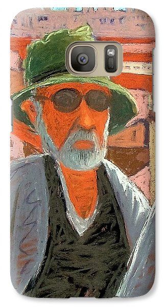 Galaxy Case featuring the painting Antibes Self by Gary Coleman