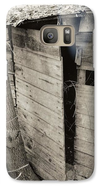 Galaxy Case featuring the photograph Antique Barn Circa 1930s by Renee Trenholm