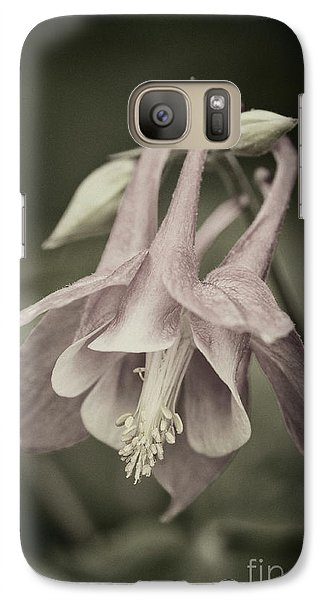 Galaxy Case featuring the photograph Antique Columbine - D010096 by Daniel Dempster