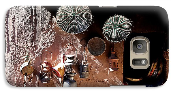 Galaxy Case featuring the photograph Antique Lanterns by Andrew Fare