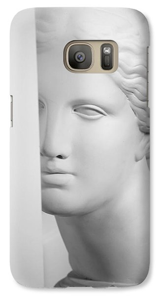 Galaxy Case featuring the photograph Antique Sculpture by Andrey  Godyaykin