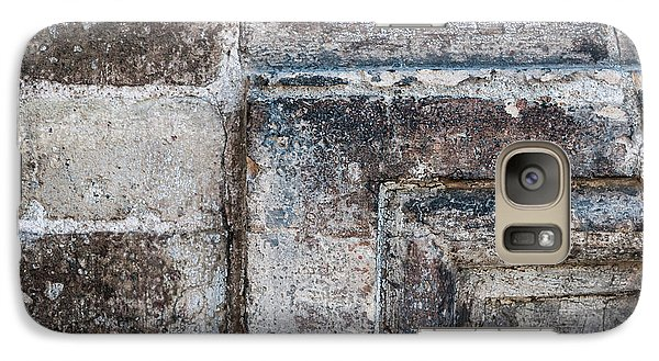 Galaxy Case featuring the photograph Antique Stone Wall Detail by Elena Elisseeva