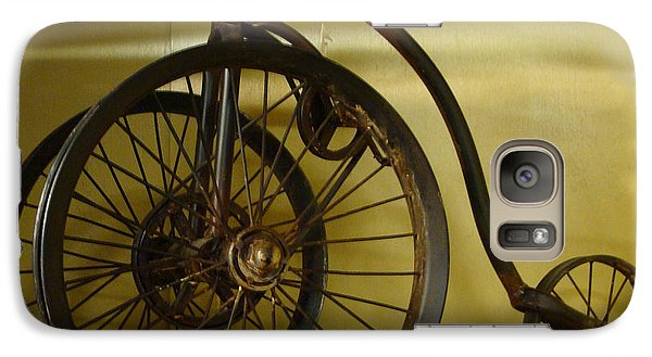Galaxy Case featuring the painting Anyone For A Bike Ride?  by Rod Jellison